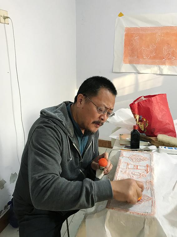 Portrait de Xun Liu