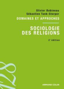 """Couverture du livre """"Sociologie des religions"""""""