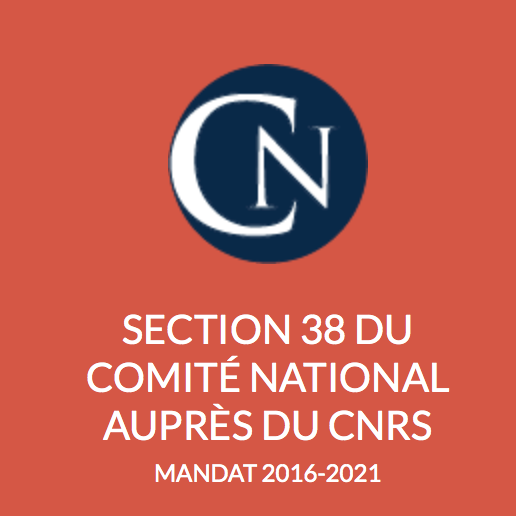 Section 38 du comité national auprès du CNRS