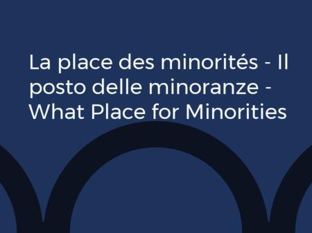 Appel à candidature / La place des minorités :  espaces, normes et représentations (Europe et Méditerranée, XIVe-XIXe siècles)