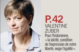 Illustration pour l'article de Valentine Zuber - l'Humanité février 2018