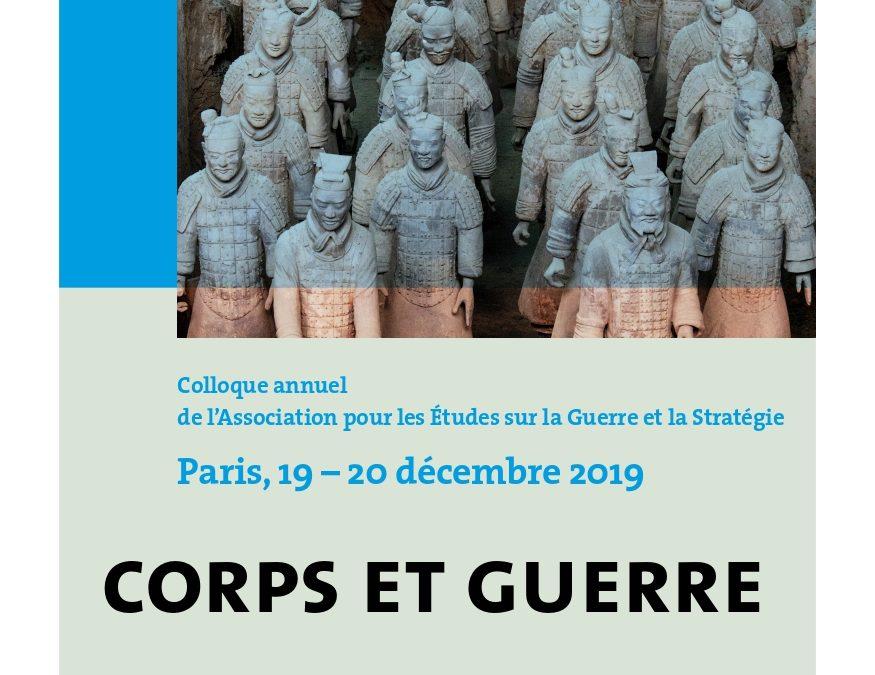 19 et 20 décembre 2019 – Colloque annuel de l'AEGES