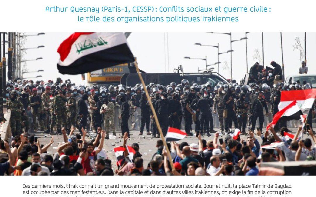 """Lundi 2 mars 2020 – Table-ronde : """"L'Irak en mouvement, entre révolution et guerre civile?"""""""