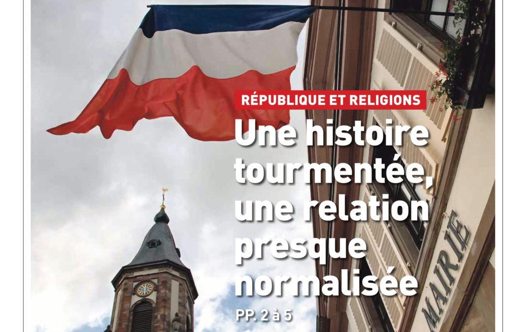 """Lundi 21 septembre – Parution : Le GSRL dans """"Réforme"""" n° 3865"""