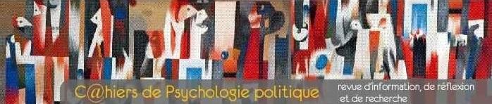 """mercredi 3 février – Stéphane François dans les """"Cahiers de Psychologie Politique"""""""