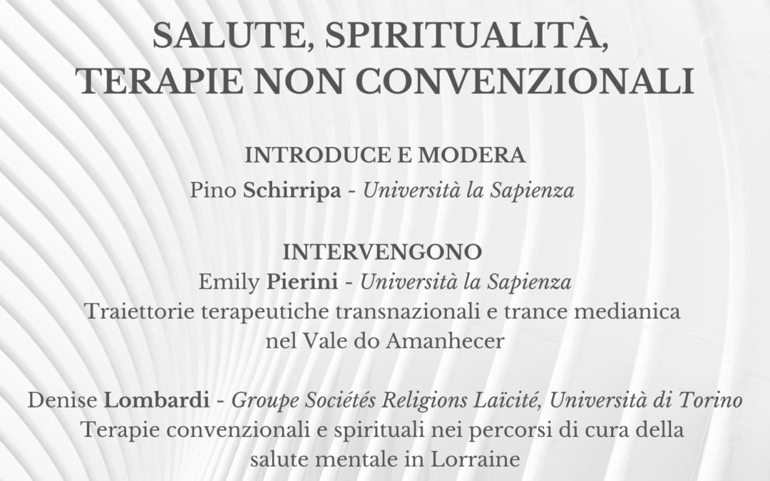 "Séminaire : ""Le religioni in ospedale"" – Jeudi 25 mars 2021"