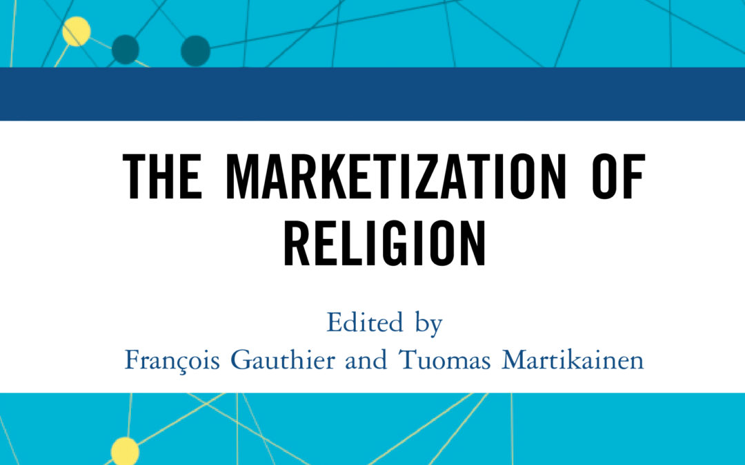 "Parution – François Gauthier : ""The Marketization of Religion"""