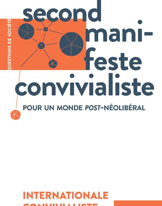 """Parution – Le GSRL et le """"Second Manifeste Convivialiste"""""""
