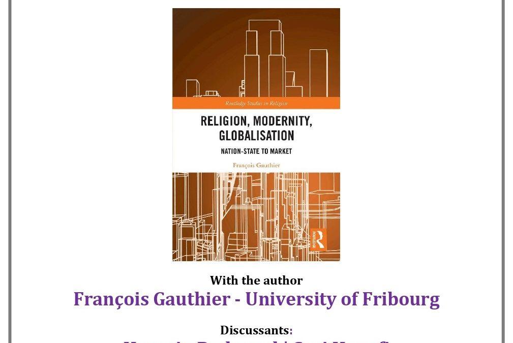 """Séminaire – François Gauthier au """"Center for Arab and Middle Eastern Studies"""""""
